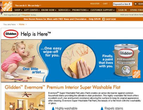 HomeDepot.com Glidden