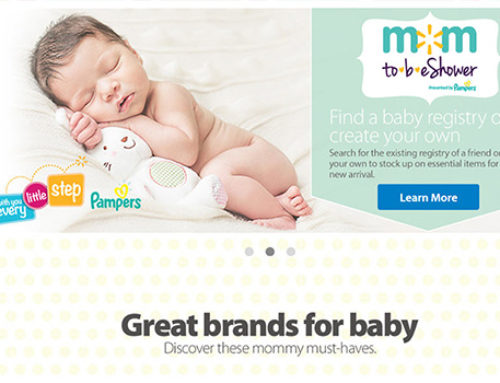 Walmart.com Pampers MomToBeShower