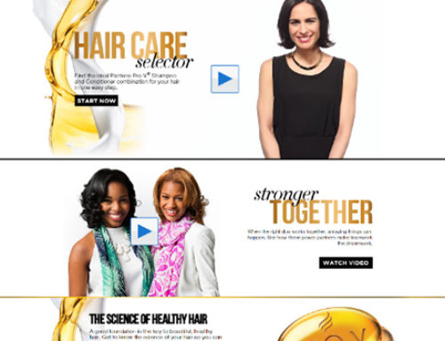 Walmart.com Pantene Stronger Together