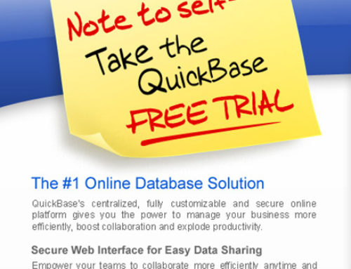 Landing Page Intuit QuickBase