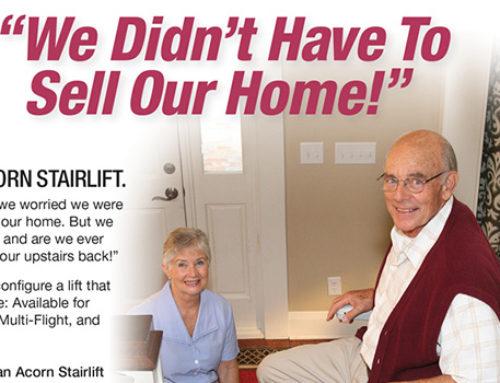 Print Acorn Stair Lift Magazine AD