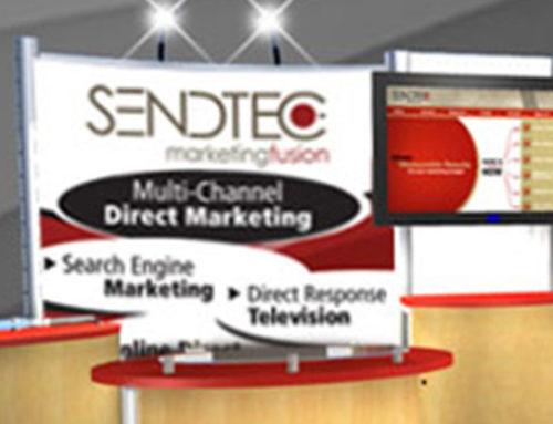Print SendTec Tradeshow Booth Nimlok