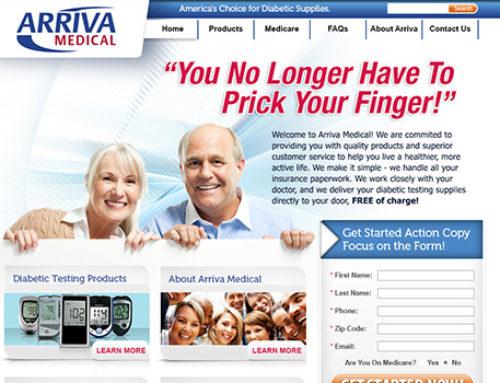 Website Arriva Medial