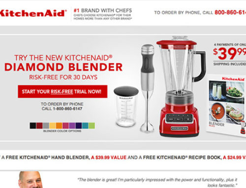 DR KitchenAid Blender