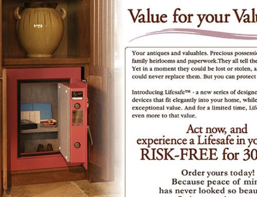 Print LifeSafe Brochure Mailer